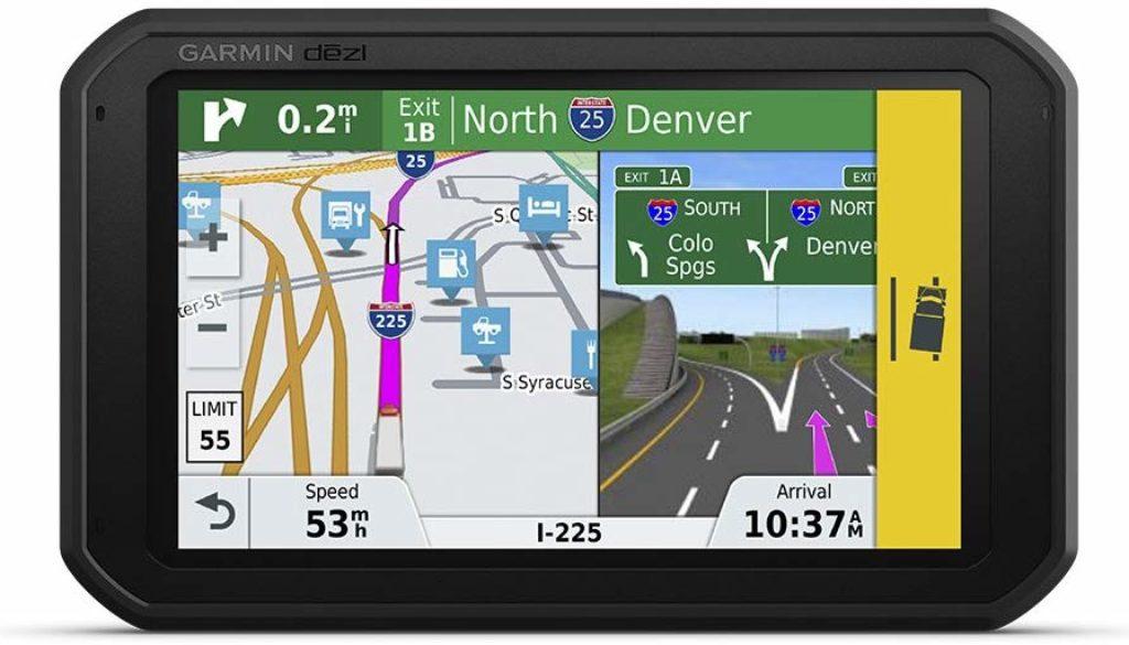 Garmin dēzl 780 LMT-S GPS