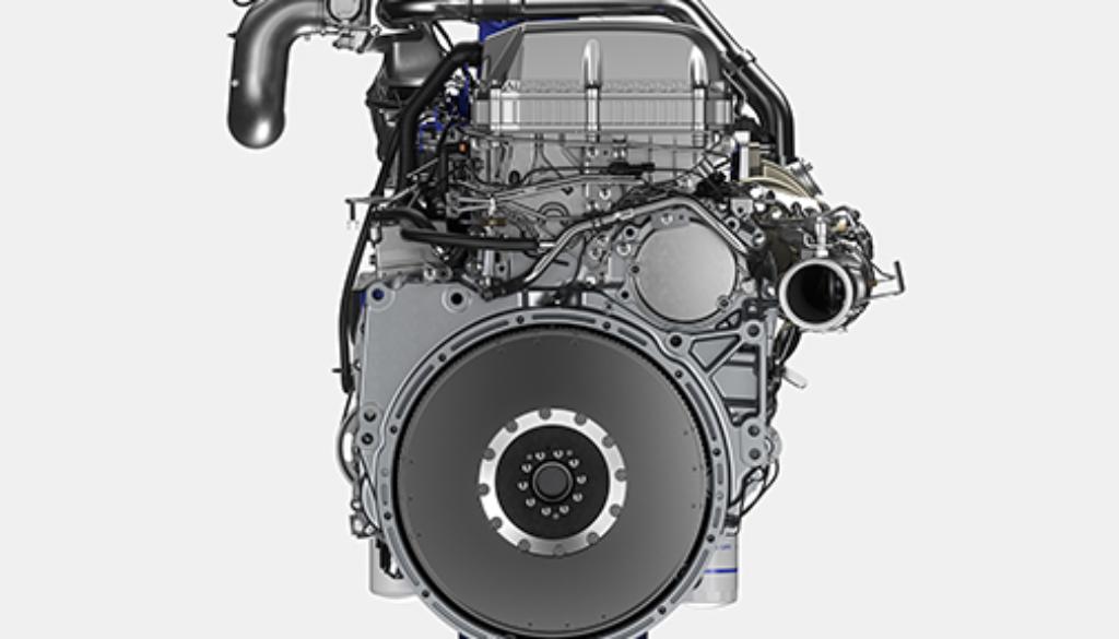 D13TC Engine Back