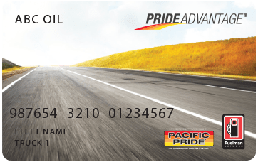 Pride Advantage Fuel Card