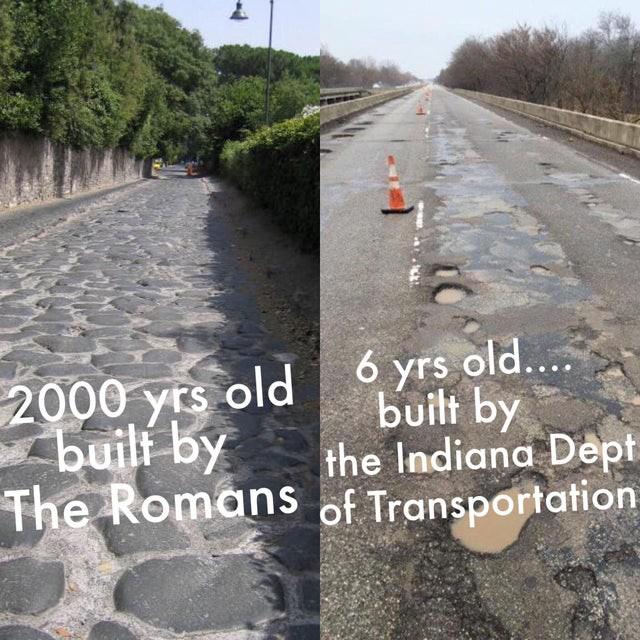 Truck Memes -Bad Roads