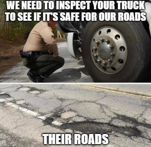 Truck Memes - DOT Inspection