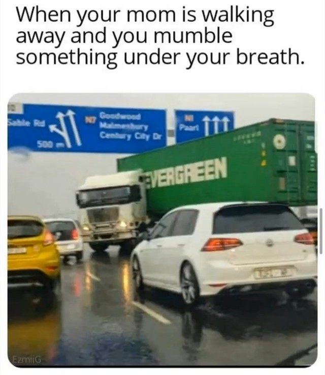 Truck Memes - Muttering Under Your Breath