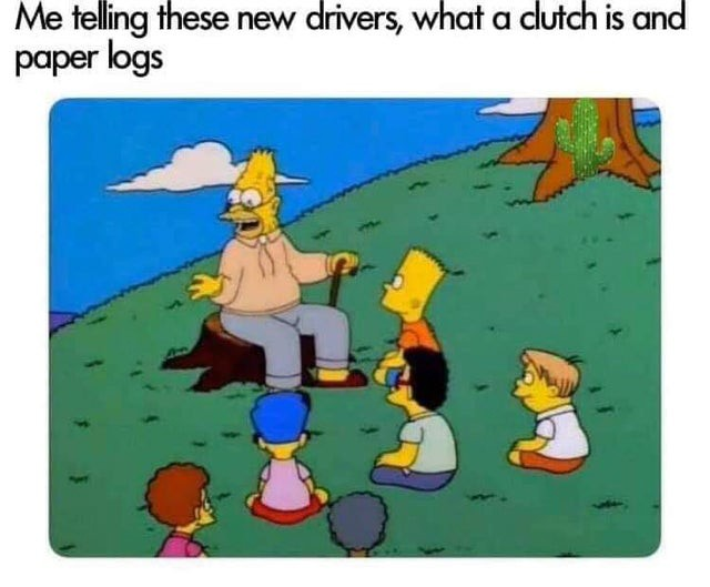 Truck Memes - Old Driver