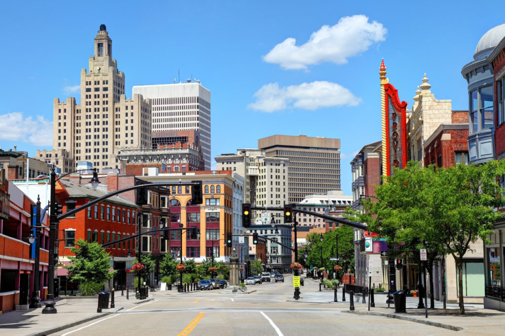 Downtown Providence Rhode Island