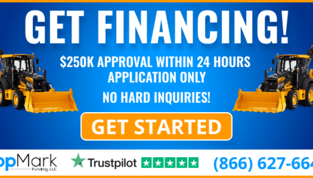 Heavy Equipment Financing - 600x300 Banner
