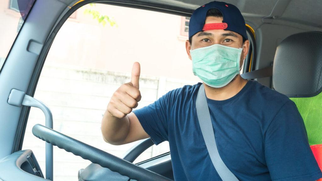 Fleets & Trucking Associations Work to Get Drivers Face Masks