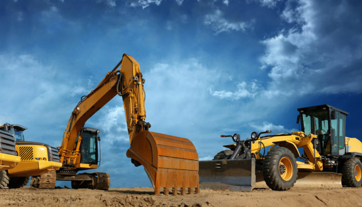 Types of heavy equipment for construction