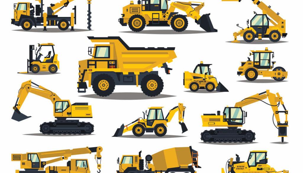 Types of heavy equipment