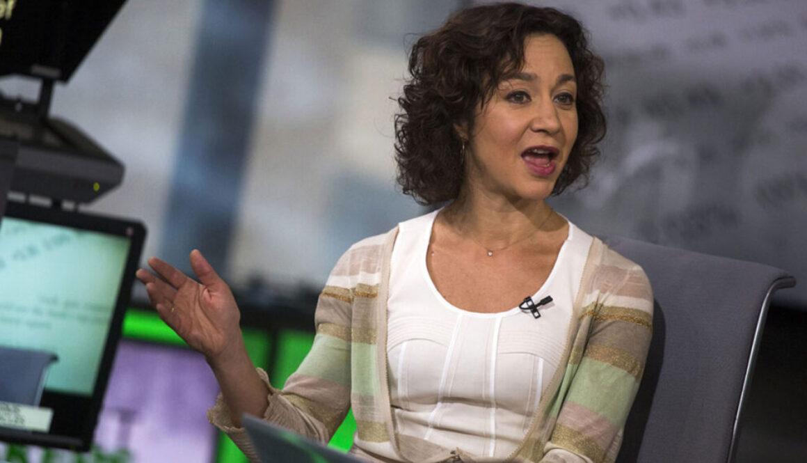Meera Joshi at the TLC (Photo credit: Michael Nagle at Bloomberg)